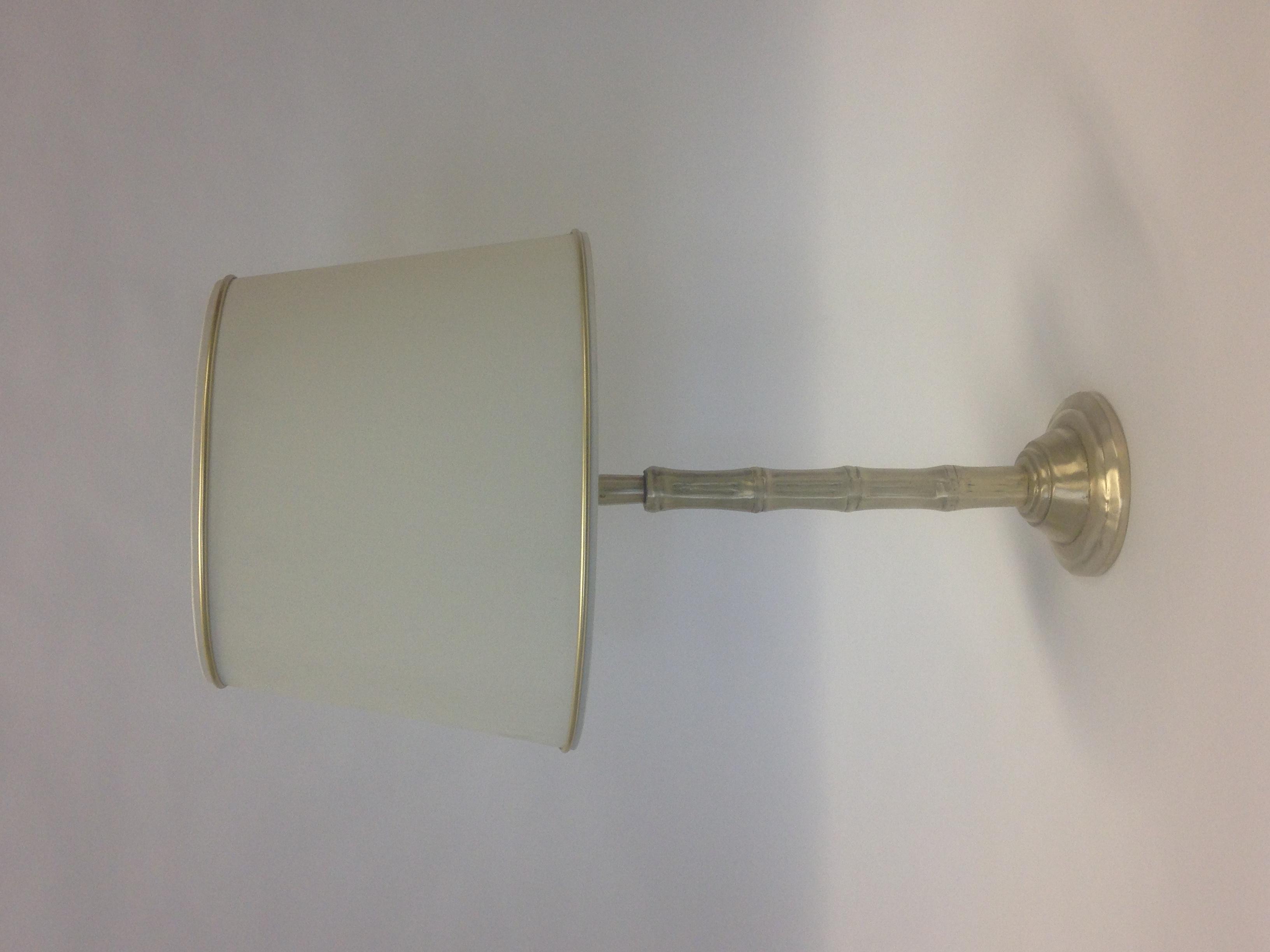 Small Bamboo table lamp