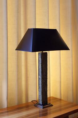 Stela table lamp close-up