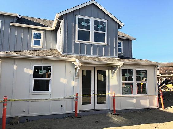Hamilton Cottages new construcion in Novato