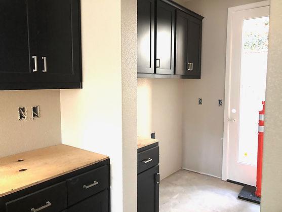 Hamilton Cottges Plan 3 laundry room under construction r
