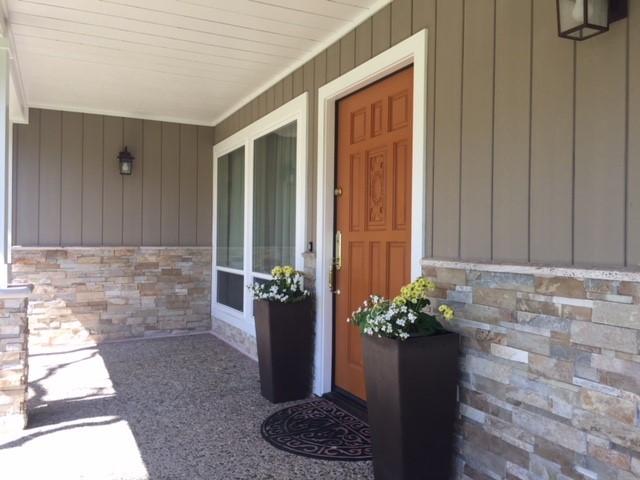 front porch in Presidents Novato