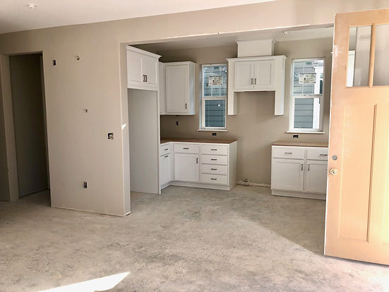 Hamilton Cottages new kitchen in Plan 2