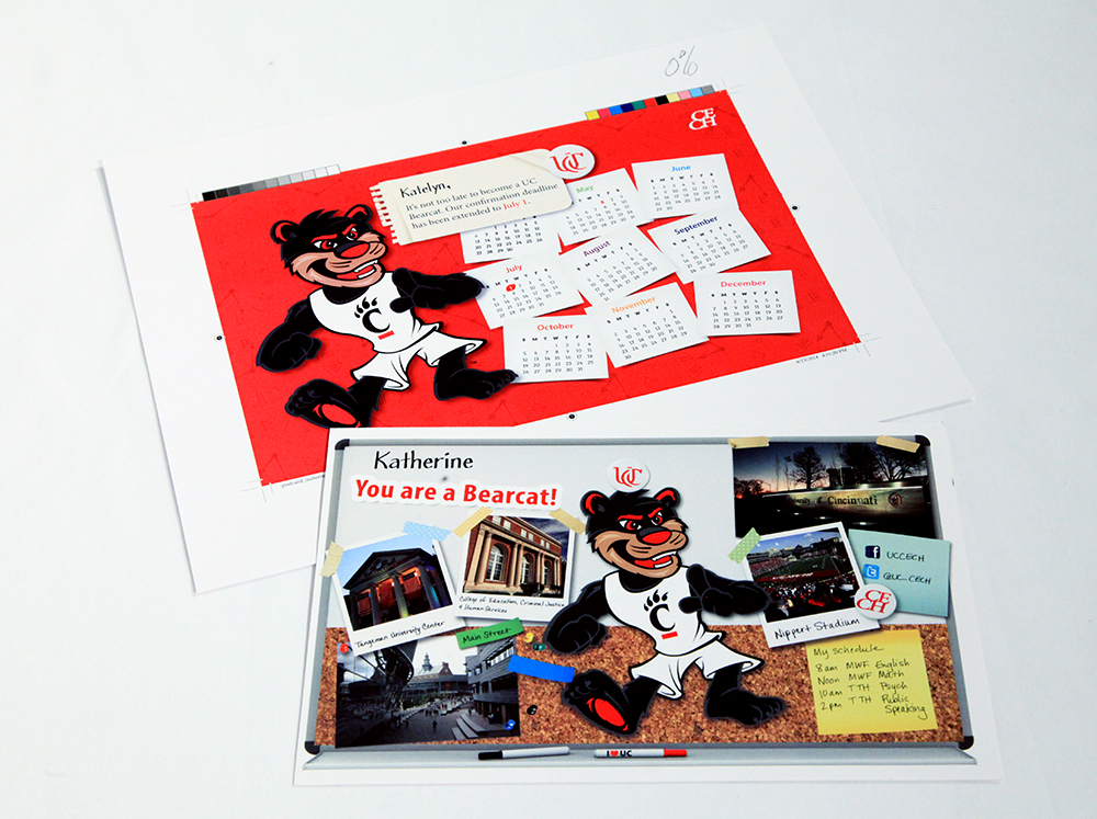 Offered Postcards