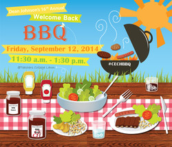 Annual BBQ poster