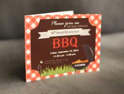 Annual BBQ invitation