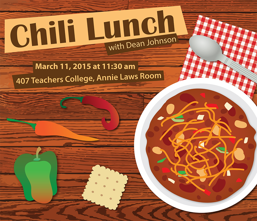 Chili Lunch poster