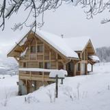 Châlet hiver