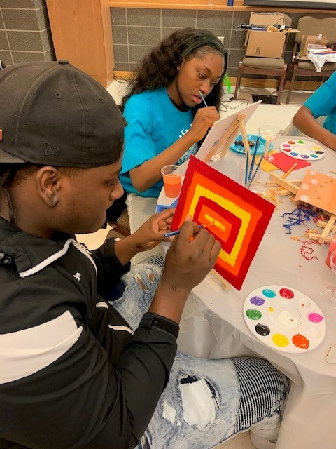 "CIS of Atlanta ""Choose Success"" Project Creates Opportunities for Art & Positivity"