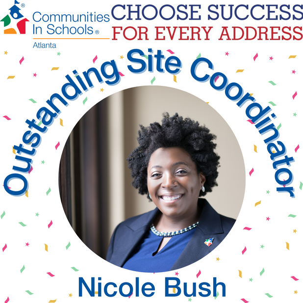 Nicole Bush Selected As Outstanding Site Coordinator