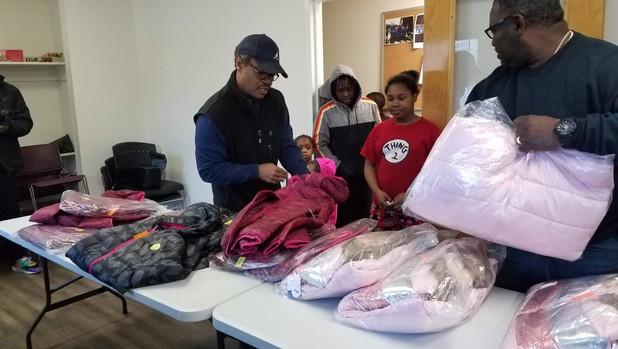 CIS of Atlanta Students Make Sure Kids Have Warm Coats During Winter