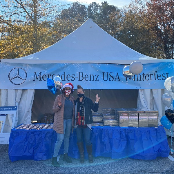 CIS of Atlanta Partners with Mercedes-Benz USA and Atlanta United for Winter Fest