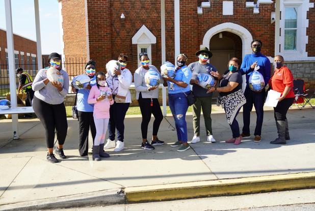 CIS of Atlanta Team Volunteers at Fall Festival