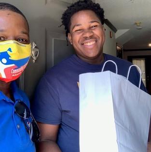 CIS of Atlanta Site Coordinator Delivers Rewards for Perfect Attendance