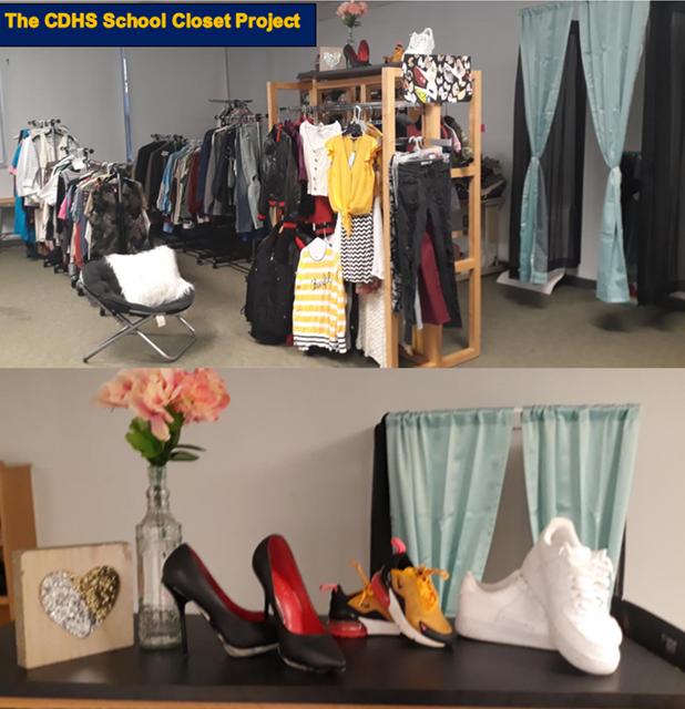 CIS of Atlanta Students Create Community Clothing Pantry