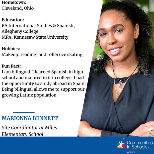 """Meet Our Site Coordinator - Marionna """"Mari"""" Bennett!"""