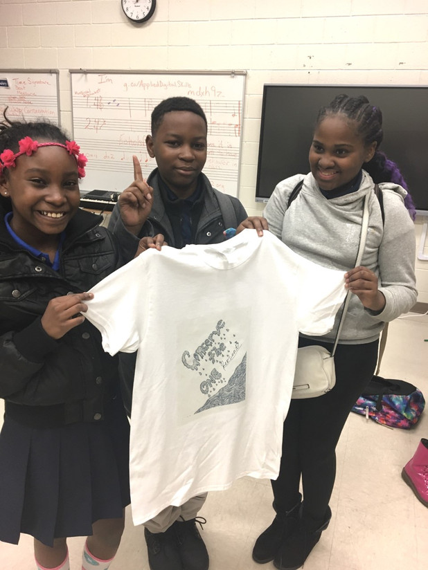 On The Frontline! Brown Middle School Students Participated in Choose Success Water Conservation Pro