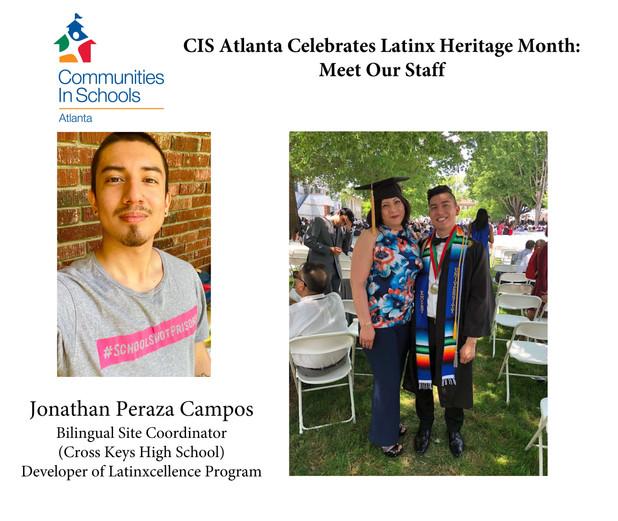Latinx Heritage Month: Meet the Staff, Jonathan Peraza Campos