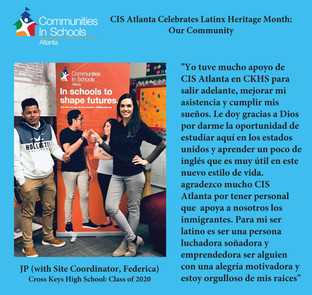 CIS Atlanta Celebrates Latinx Heritage Month: Our Community