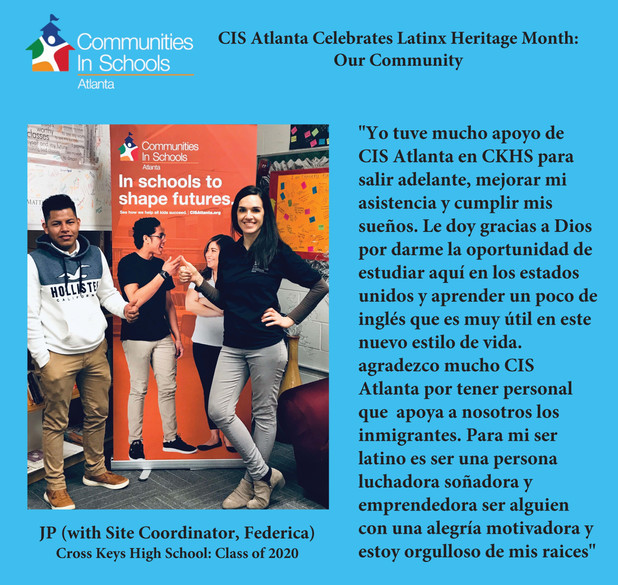 CIS Atlanta Celebrates Latinx Heritage Month: Our Community