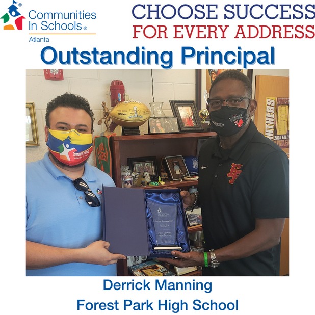 Derrick Manning Selected As Outstanding Principal