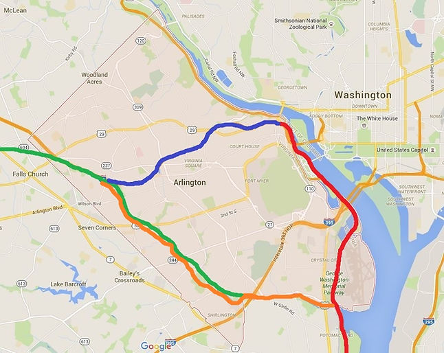Arlington Bike Paths