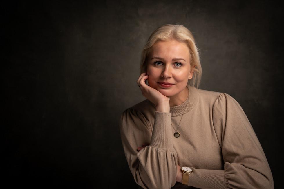 Studio Portret dame Wageningen
