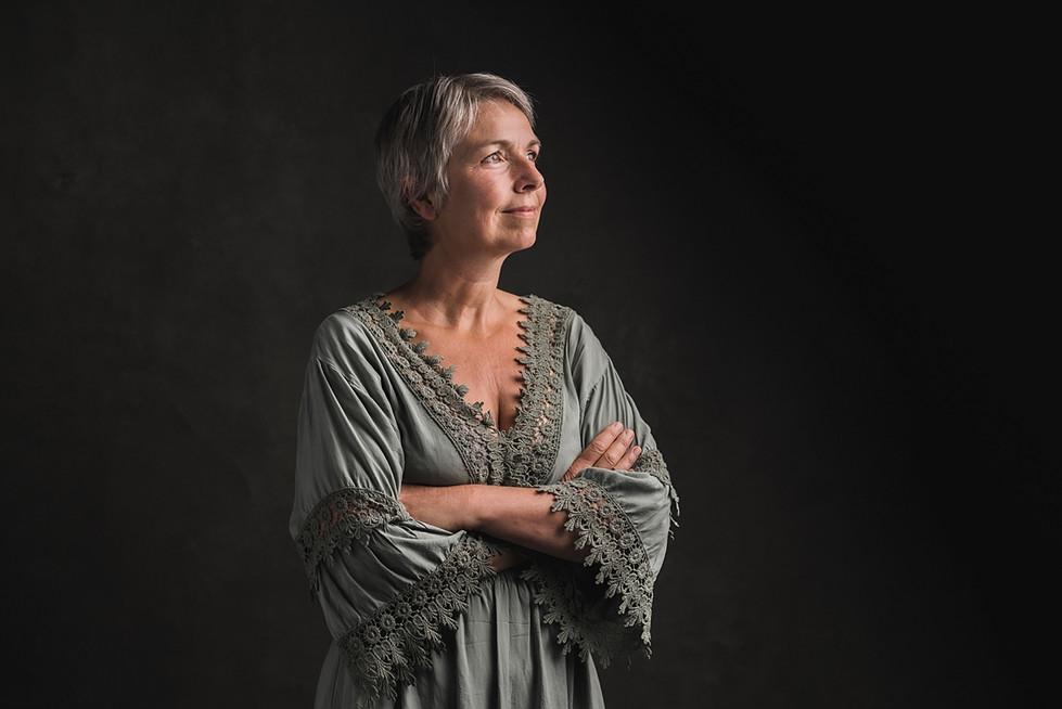 Portret Vrouw Wageningen