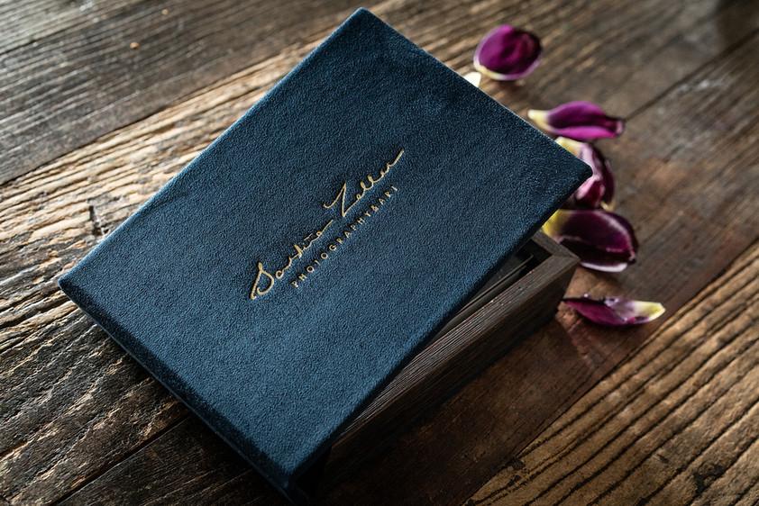 Afdruk met luxe opberg box