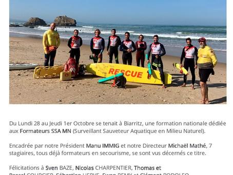 Nos formateurs en formation à Biarritz