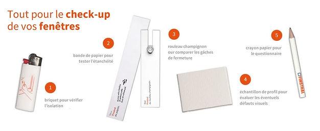 5 tests très simpls pour vérifier l'état de ses fenêtres. Kit gratuit chez Daniel Châtelain SA à Martigny