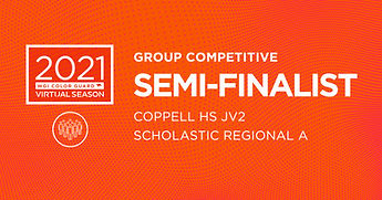 Coppell HS JV2_CGCompetitiveSemiFinalist