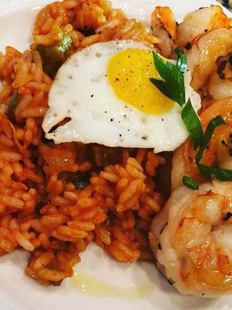 Lemon and garlic grilled shrimp, Nashvil