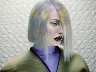 Pixelated Haircolor