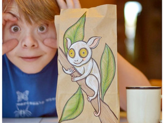 Leia Bell Lunchbag Art