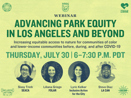 ICYMI: Advancing Park Equity in LA and Beyond