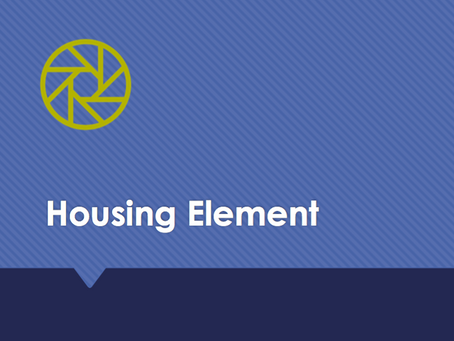 Housing Element 101