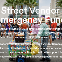 Street Vendor Emergency Fund