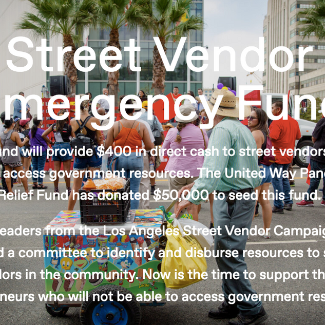 Street Vendor Emergency Fund