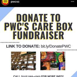 PWC Care Box Fundraiser