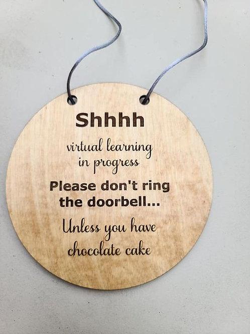 Virtual Learning Door Hangers