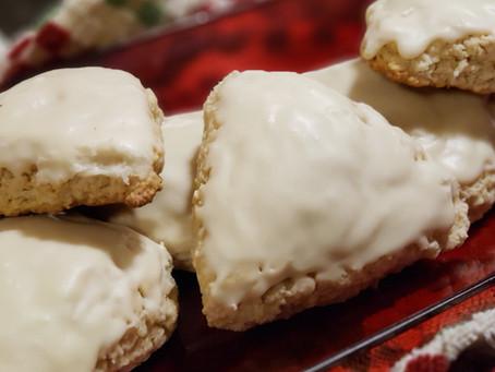 Vegan Vanilla Scones