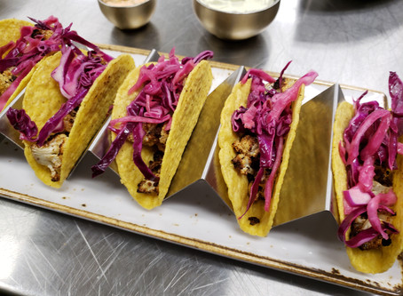 Roasted Chipotle Cauliflower Tacos