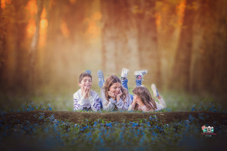 ילדים בטבע