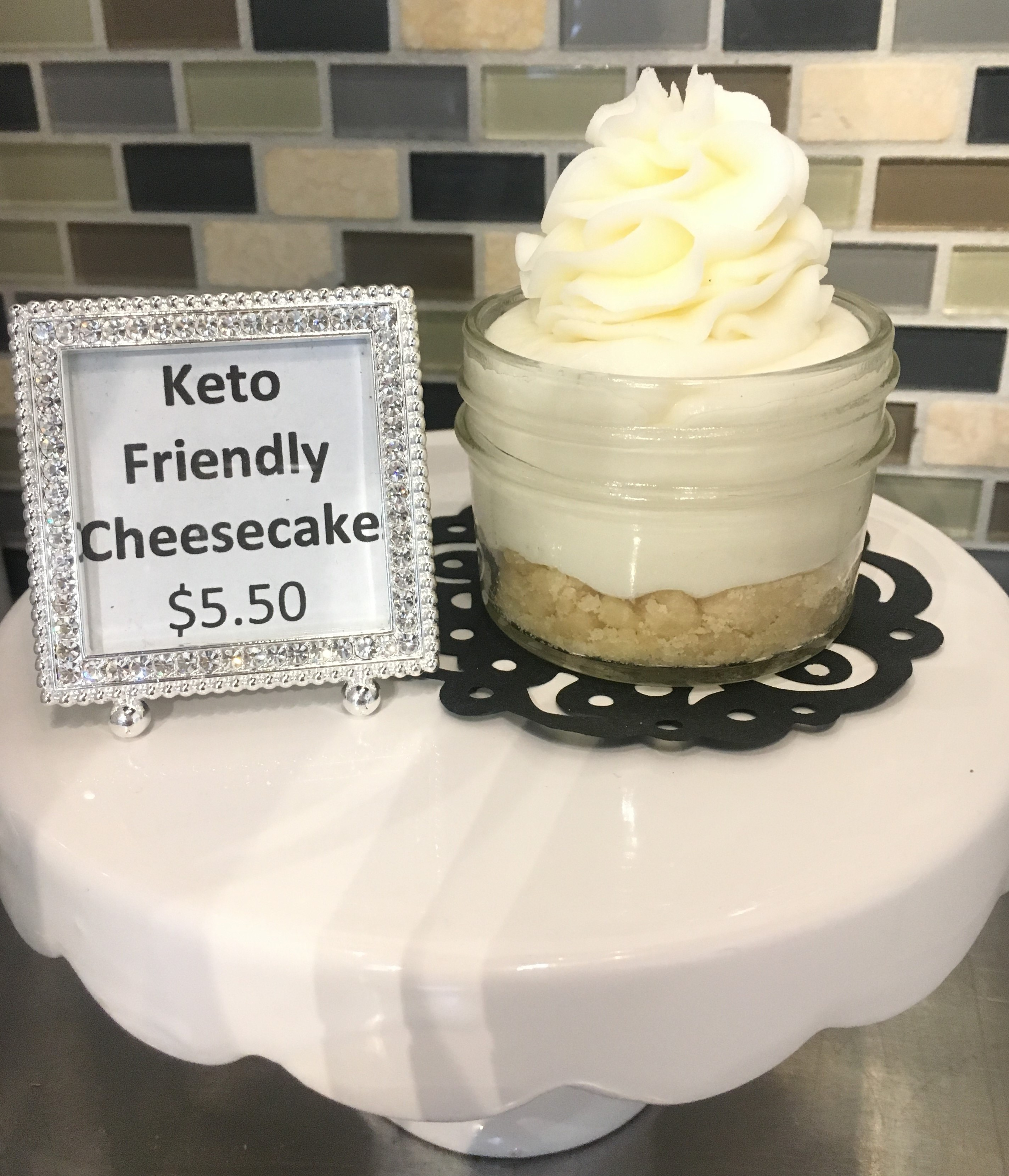 Keto-Friendly Cheesecake