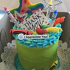 """4"""" Party Cake"""