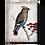 Thumbnail: Waxwing Sid Dickens Memory Tile