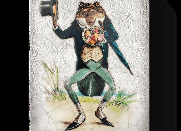 Sir Frog Sid Dickens Memory Tile