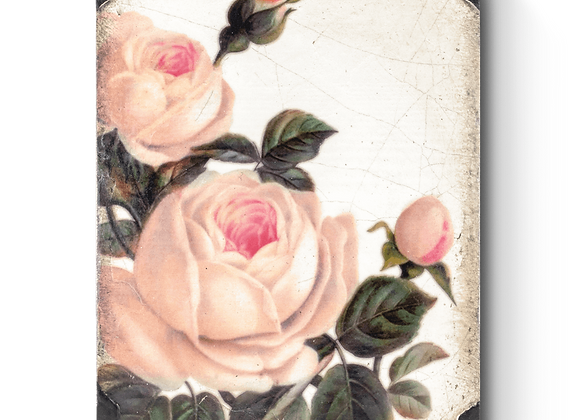 Gentle Rose Sid Dickens Memory Tile