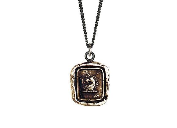 White Light Talisman Necklace by Pyrrha