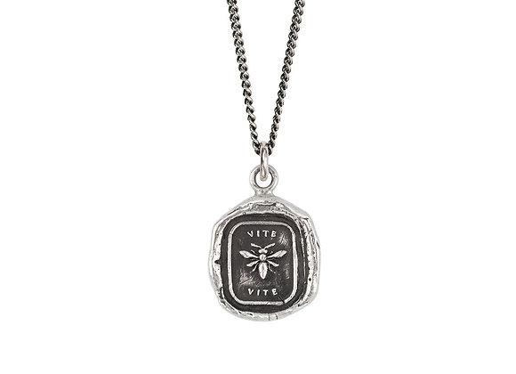 Vite Talisman Necklace by Pyrrha
